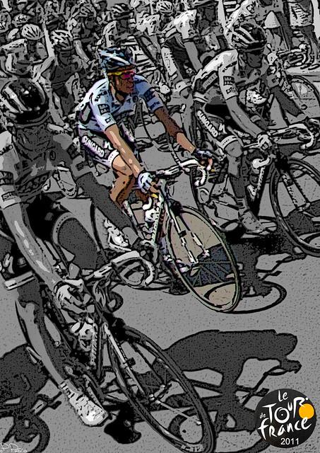Tour de France 2011 Talmont St Hilaire - CONTADOR