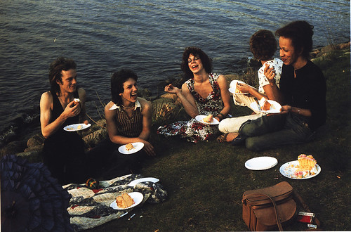 Picnic on the Esplanade, Boston by Nan Goldin, 1973