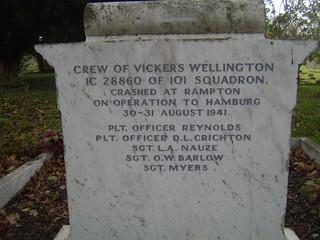Rampton Grave Stone