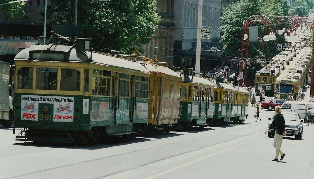 The Melbourne tram strike of January 1990