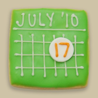 Save the Date Cookie | by Michael's Cookie Jar
