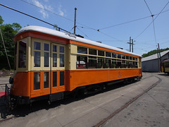 日, 2011-06-26 12:44 - The Shore Line Trolley Museum Car 357 (Johnstown, PA)