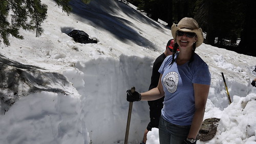 snow removal on butcher ranch July 2011