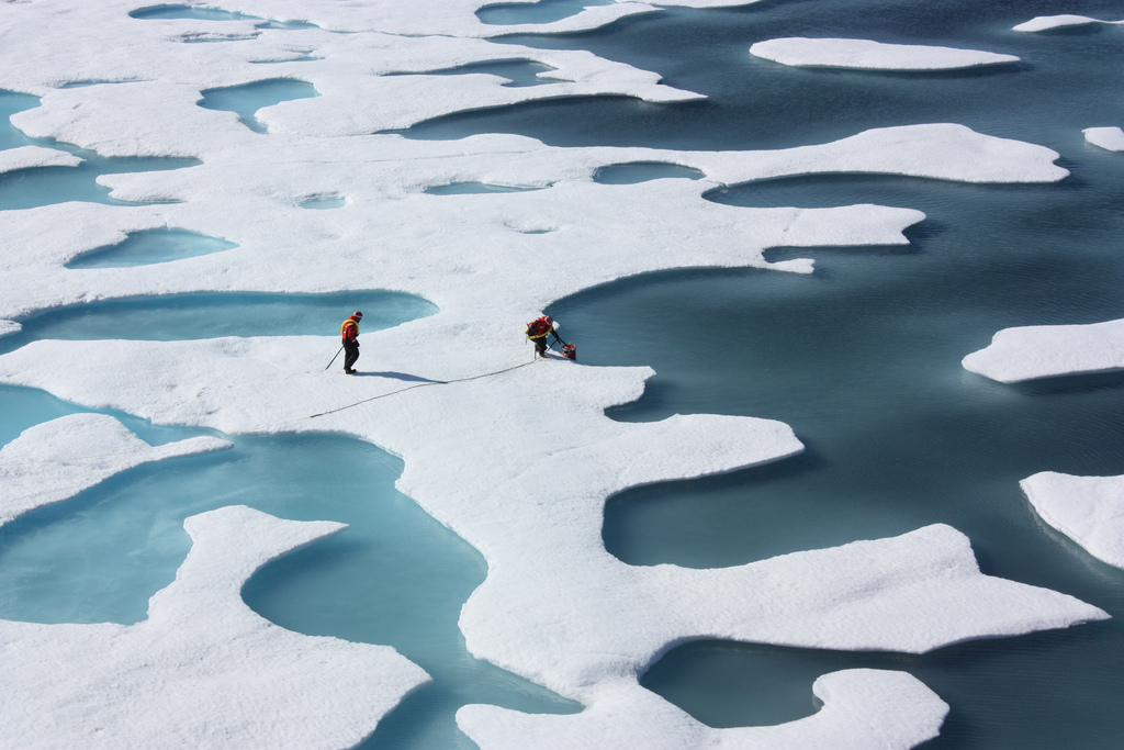 Waters Near Arctic Ocean Just Jumped 30 Degrees Above Normal