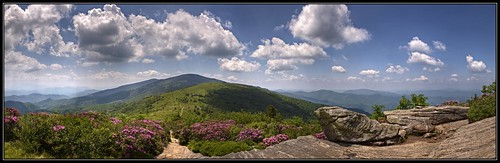 sky mountains clouds nc rocks northcarolina hdr appalachiantrail rhododendrons roanmountain 3xp photomatix tonemapped at janebald roanmountainshighlands