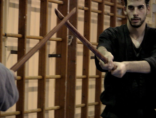 Wooden swords and ladders   by AKBAN academy