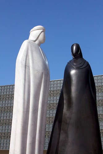 Man and Woman in Dubai | by tewahipounamu