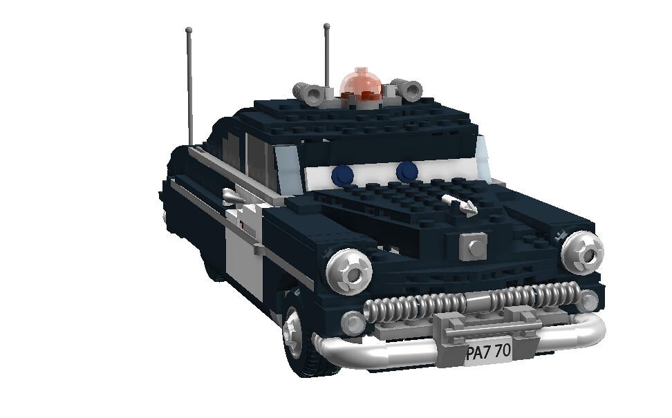 Sheriff 1949 Mercury Police Cruiser Disney Pixar Car Flickr