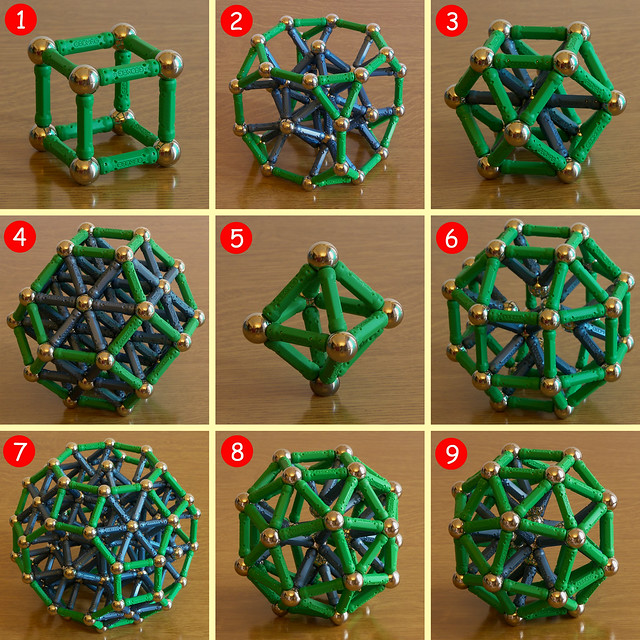 About Cubes and Octahedrons