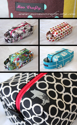 Project Bag Collage | by MisoCraftyKnits