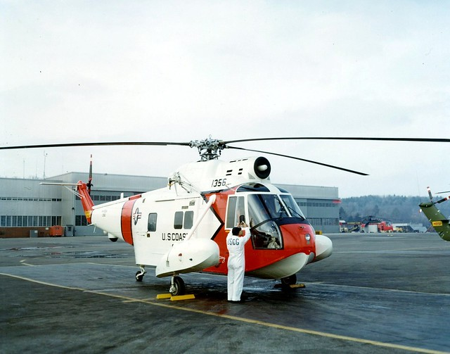 Sikorsky HH-52A Turbine Flying Boat Helicopter, Stratford, Conn. (USCG)