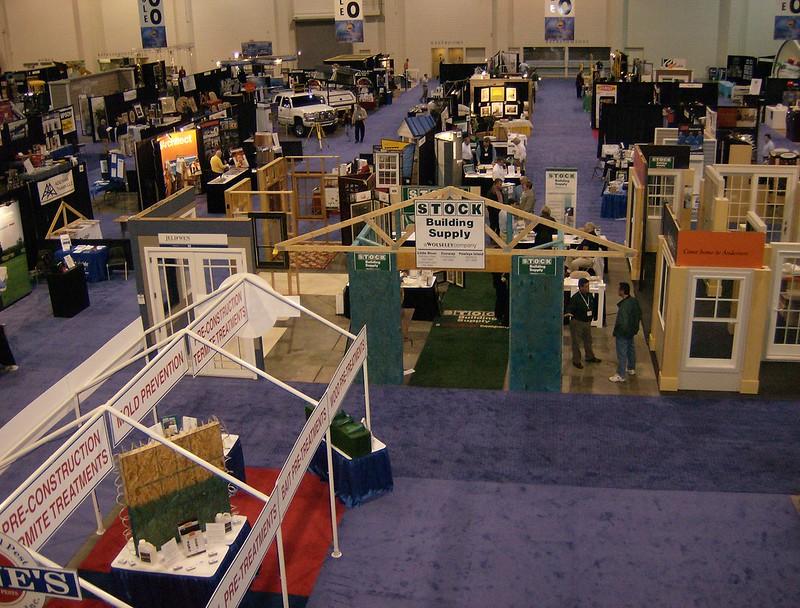 Building Industry Tradeshow Exhibit Hall B&C
