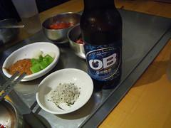 日, 2011-07-17 16:19 - Arirang OBビールとおつまみ