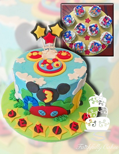 Mickey Mouse Clubhouse 3rd Birthday Faithfullycakes Flickr