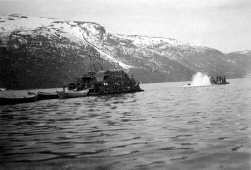 Flåtebygging i Elsfjorden