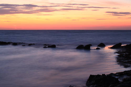 sunset beach canon eos rebel rocks elite fl explored eos500d t1i canont1i canoneosrebelt1i blinkagain bestofblinkwinners bestofblink flutterbye216