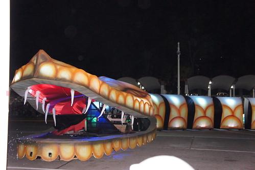 Lalikilpará, Anaconda de más de 50 metros