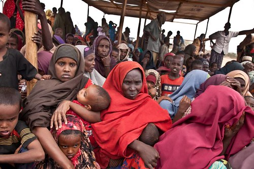 UNHCR News Story: Drought and displacement in Somalia: Fleeing from dust and starvation | by UNHCR