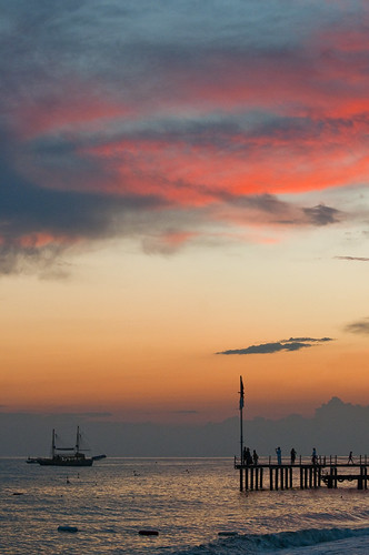 sunset silhouette turkey pier boat silhouettes alanya instantfave omot flickrelite turkeysidepiersunset02dsc8147