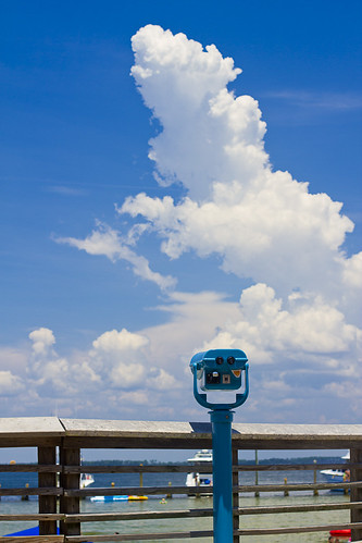 blue beach clouds boats florida rails boardwalk railing pensacola pensacolabeach viewfinder reduce deepen simplify phtotography 2likru rsdphoto rsdphotography