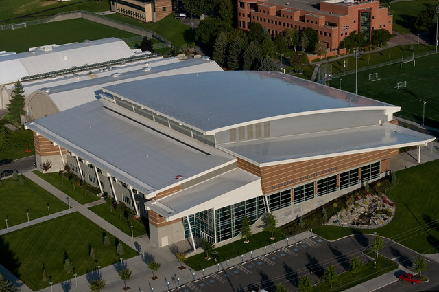 Top of the McCarthey Athletic Center