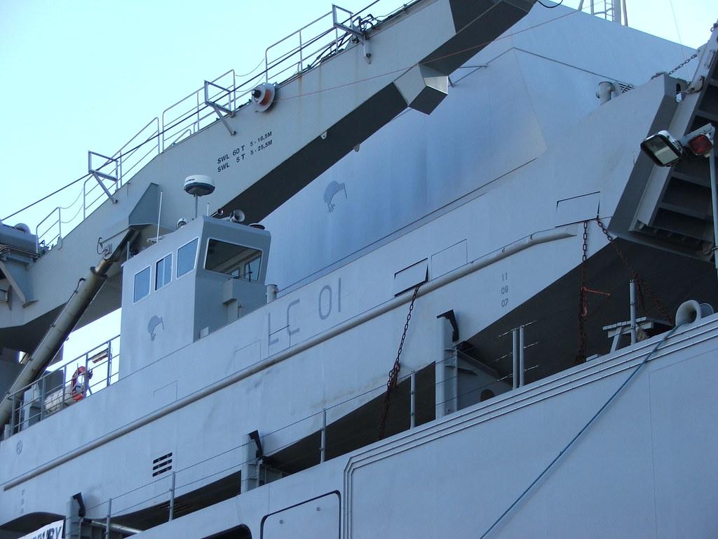 Canterbury's medium landing craft