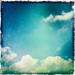 天空電気シアン #hipstamatic #夏だコノヤロ #sky