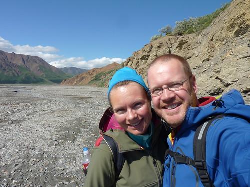Denali NP - rivier hike - 2