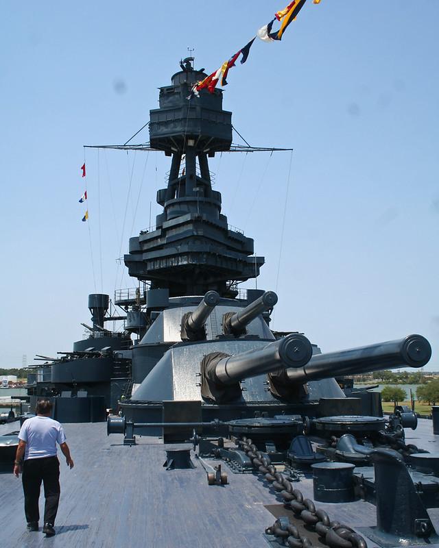 Battleship U.S.S. TEXAS (BB-35)