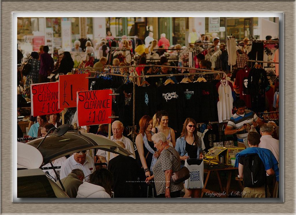 Preston Car Boot Sale Designer Label Bag Preston Styl Flickr