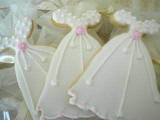 Wedding Dress Cookie   by mycookiewishes