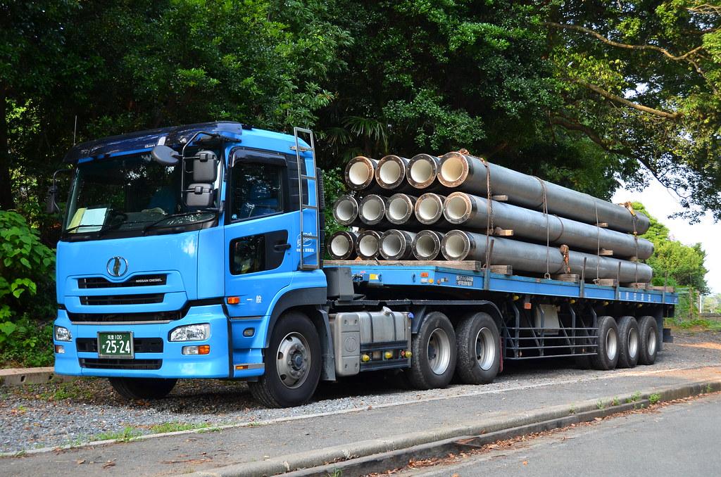 Nissan Diesel Truck >> Blue Nissan Diesel Truck Brian G Kennedy Flickr