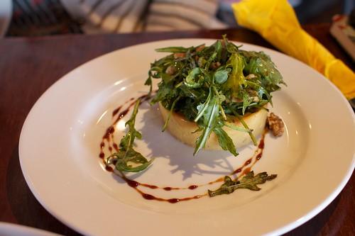 walnut and cheese tart | by tristankenney