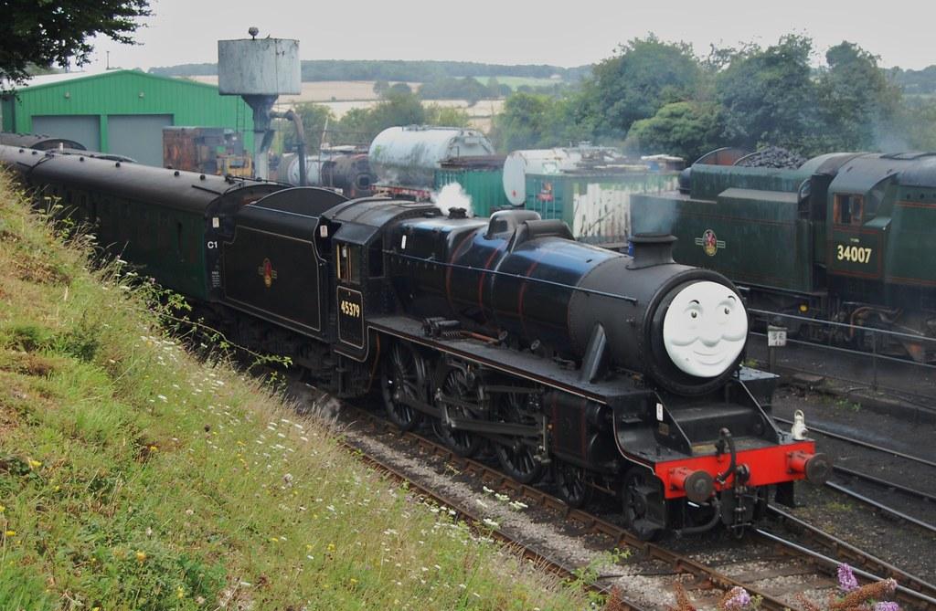 LMS Black 5 No 45379 | Sir Topham Hat, The Fat Contoller, sa