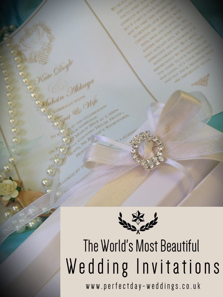 Scroll Wedding Invitation Beautiful Handmade Wedding Stati Flickr