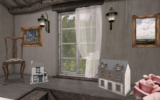 Farmhouse Bedroom_Window | by Hidden Gems in Second Life (Interior Designer)