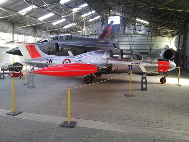 MS-760 Paris 116/ON ex CEV, FrAF. Preserved Montelimar-Ancone,10-08-2012.
