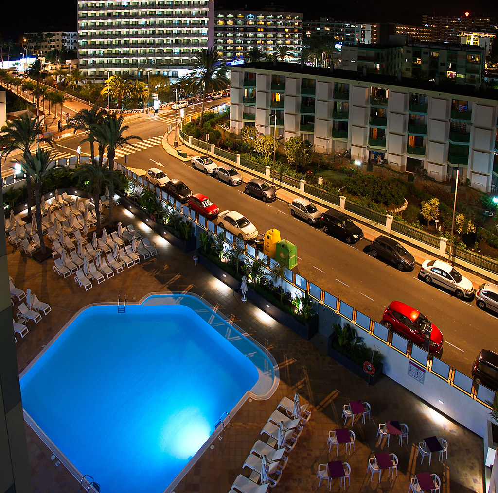 P1170728 Hotel Marieta Playa Del Ingles View From Top Flickr