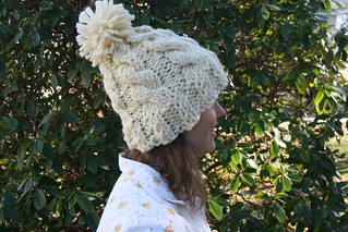 Chunky Cable Knit Hat | by patternandbranch