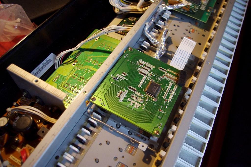 D-50 key scan board | Saga Musix | Flickr