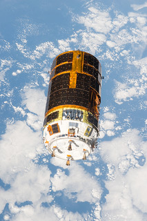 Japanese HTV-6 Released from Station | by NASA Johnson