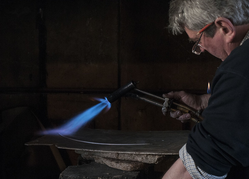 The Guild of Handicraft - Silversmiths using traditional methods in an original studio established in 1888 and still run by the same family.