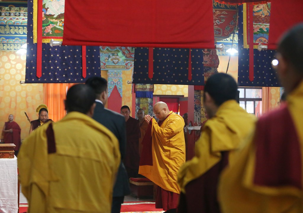 2016.01.16 The Gyalwang Karmapa Continues Teaching, Announces Plans for Shedra Curriculum