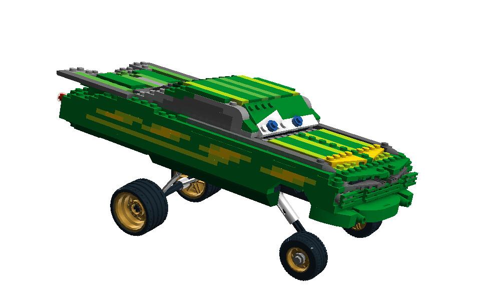 Green Ramone Disney Pixar Cars Movie Character Flickr