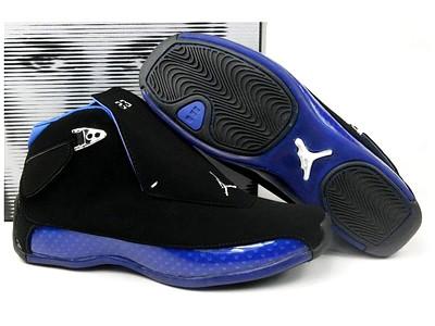 c4eaa6e9682 Air Jordan 18 Original Black Royal Blue Suede | Look here! T… | Flickr