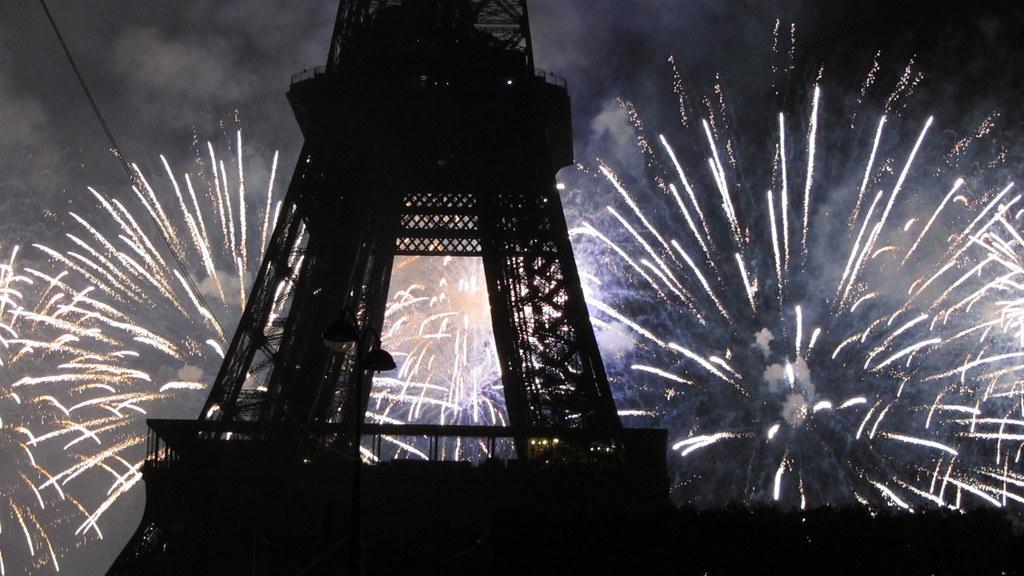 Bastille Day Fireworks