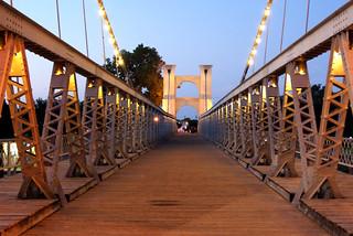 Waco Suspension Bridge | by niseag03