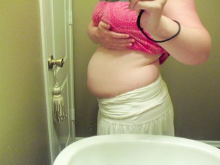 9 weeks postpartum diastasis. | by mooshinindy
