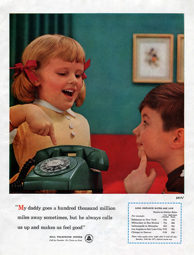 Bell Telephone Magazine Advert, 1957 | by JoeInSouthernCA