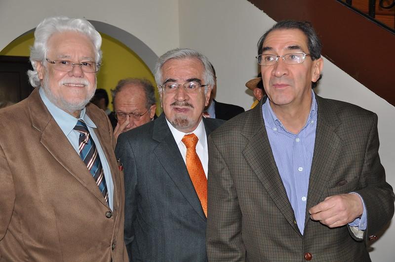 Carlos Gaviria, German Navas Talero y Aurelio Suárez